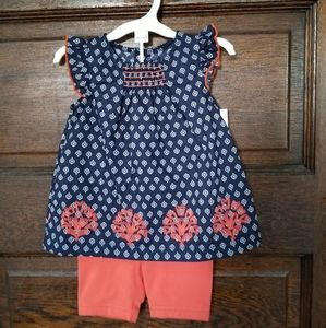 NWT Just One You shorts set